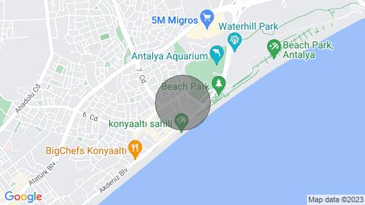 Luxury Flat Antalya Near Beach Map