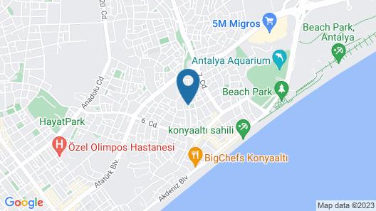 Gunduz Otel Map