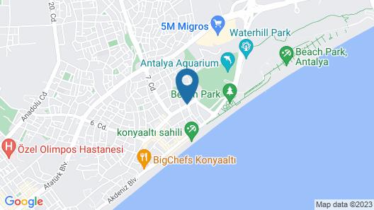 Tunc Apart Map