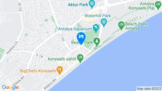 S White Hotel Map