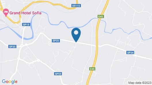 Hotel Villa Favorita Map