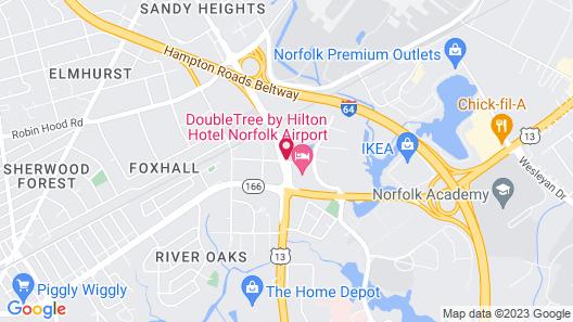 Residence Inn by Marriott Norfolk Airport Map