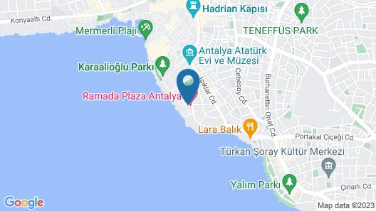 Ramada Plaza by Wyndham Antalya Map