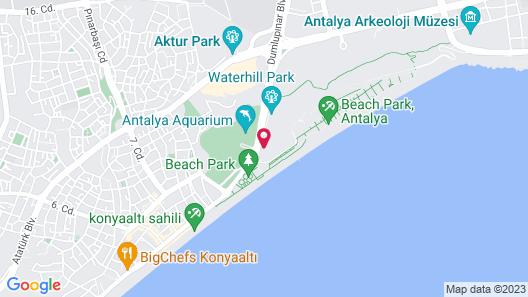 Hotel Su & Aqualand Map