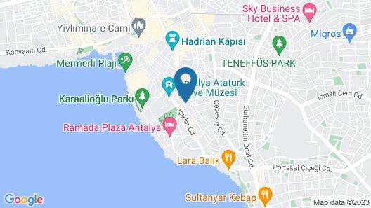 Hotel Guleryuz Map