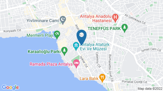 Oscar Boutique Hotel Map