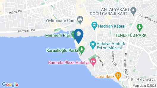 Özmen Otel Map
