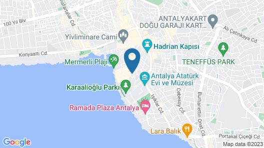 Cedrus Hotel Map