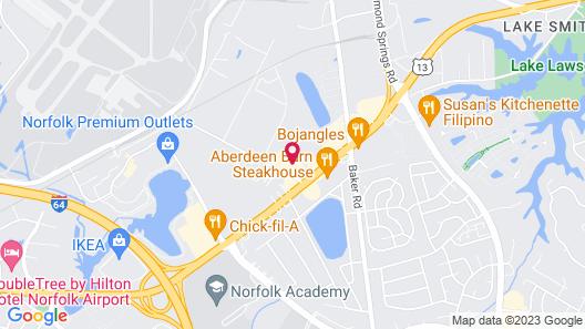 Fairfield Inn & Suites by Marriott Virginia Beach/Norfolk Airport Map