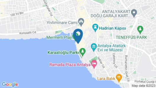 Dedehan Pansiyon Map