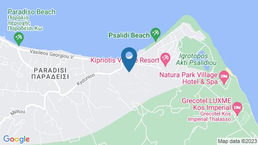 Kipriotis Maris Suites - All Inclusive Map