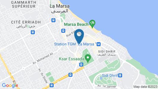 Dar El Marsa Map