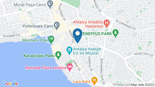 Ela Butik Otel Map