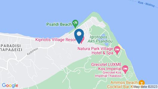 Kipriotis Village Resort - All Inclusive Map