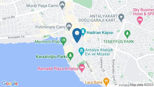 Old House Hostel & Pub Map