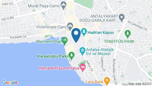Camel Pension Map