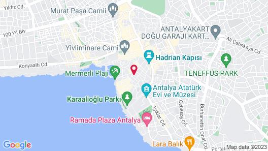 Mediterra Art Hotel Map