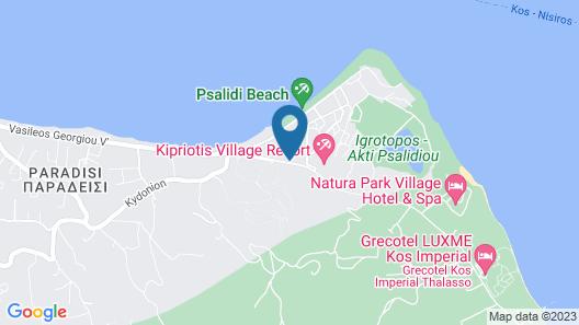 Mitsis Ramira Beach Hotel - All Inclusive Map