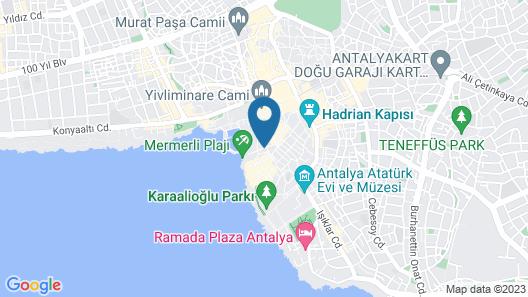 Dogan Hotel by Prana Hotels & Resorts Map