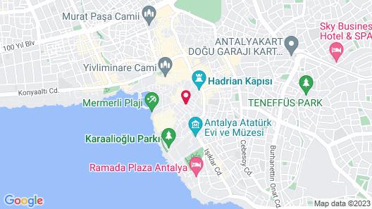 Alp Pasa Hotel Map