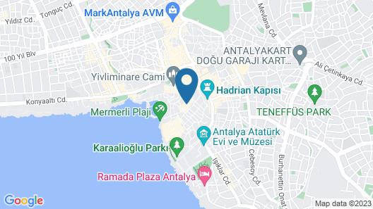 Mia Boutique Hotel Map