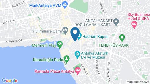 Urcu Hotel Map