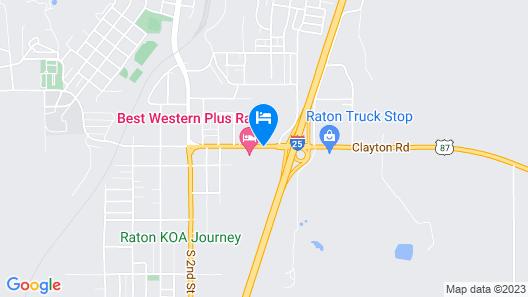 Quality Inn Raton Map