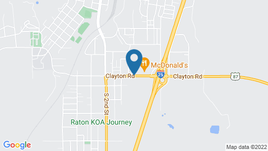Best Western Plus Raton Hotel Map