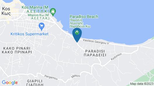 Alexandra Beach Hotel Map