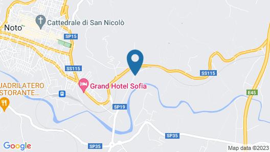 Villa degli Oleandri Map