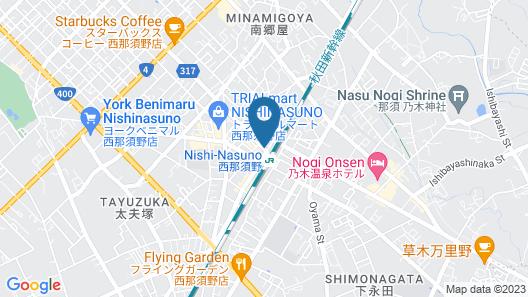 Hotel Select Inn Nishinasuno Ekimae Map