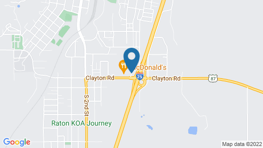 Microtel Inn & Suites by Wyndham Raton Map