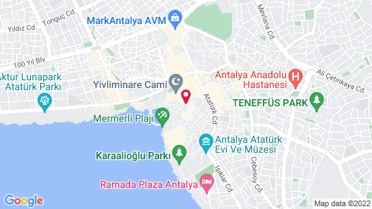 Tuvana Hotel - Special Class Map