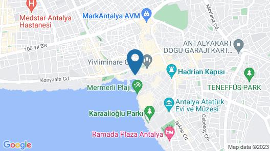 Adalya Port Hotel Map