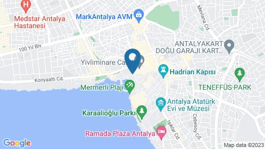 Kaleici Gizli Bahce Map