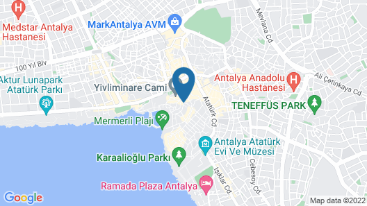 Patron Hotel Map