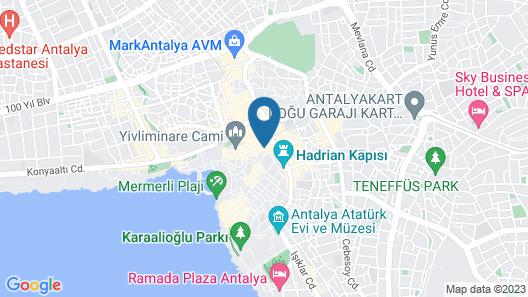 Sun Anatolia Otel Map
