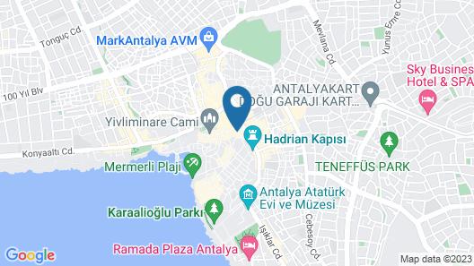Hotel Twenty Map