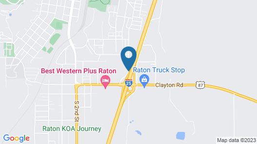Travelodge by Wyndham Raton Map