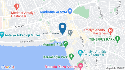Hotel Mevre Map