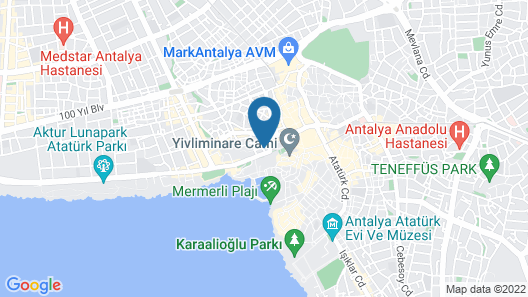 BetaS GuestHouse Map