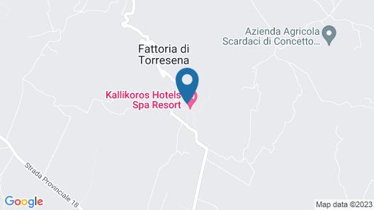 Kallikoros Country Resort & Spa Map