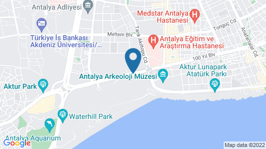 Rixos Downtown Antalya Map