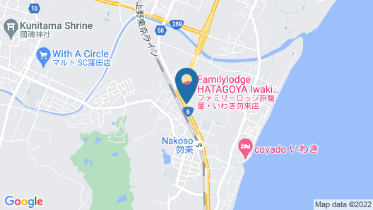 Family Lodge Hatagoya Iwakinakoso Map