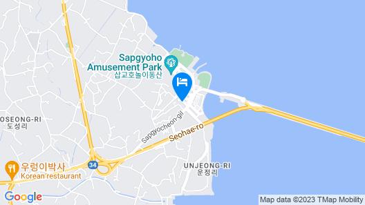 Dangjin Blue Hotel Map