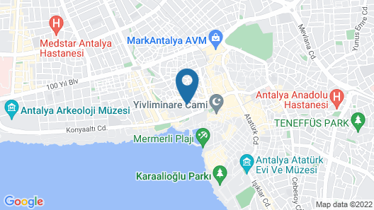 Sky Kamer Hotel Map