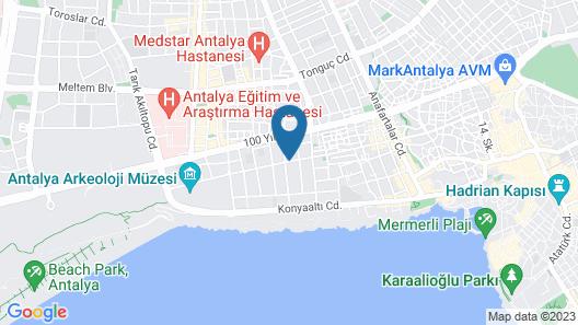 Suite Laguna Hotel Map