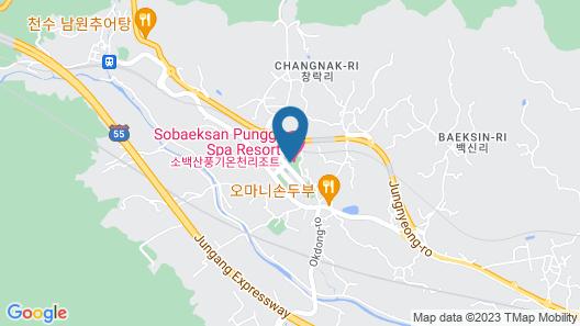 Sobaeksan Punggi Spa Resort Map