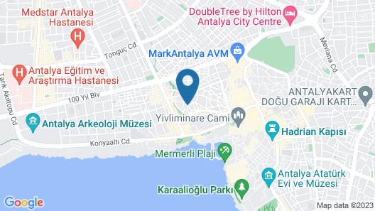 Aydın Otel Pansiyon Map