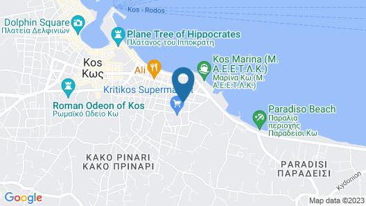 Peridis Family Resort Map